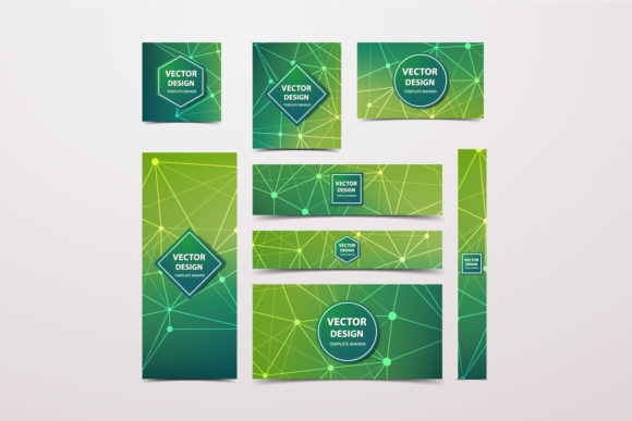 15 Collection Green Technology Banners Graphic Graphic Templates By Manuchi