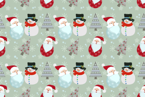 Christmas Seamless Pattern. Graphic Patterns By ranger262