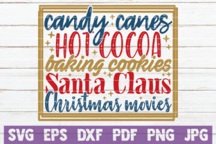 Candy Canes Hot Cocoa Christmas Graphic By MintyMarshmallows