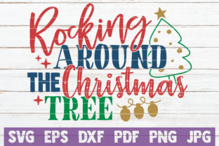 Rocking Around the Christmas Tree Graphic By MintyMarshmallows