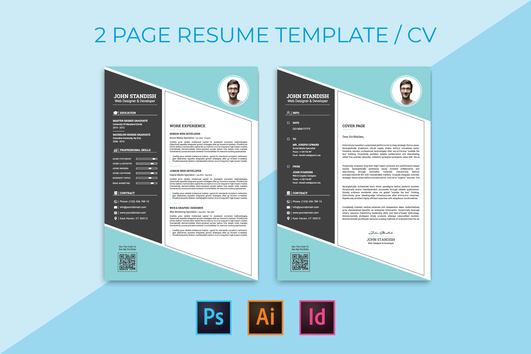 Download Free Resume Graphic By Ju Design Creative Fabrica for Cricut Explore, Silhouette and other cutting machines.
