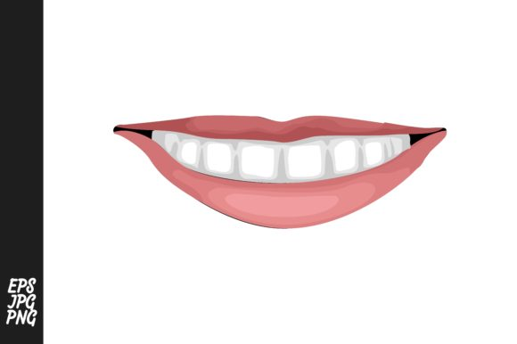 Print on Demand: Lips Vector Graphic Crafts By Arief Sapta Adjie