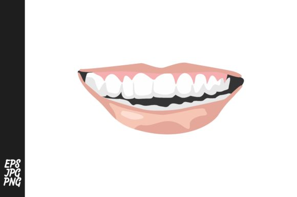 Print on Demand: Lips Vector Graphic Crafts By Arief Sapta Adjie - Image 1
