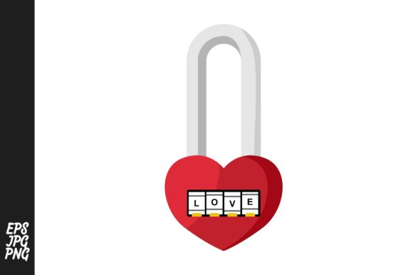 Print on Demand: Padlock Vector Graphic Crafts By Arief Sapta Adjie - Image 1