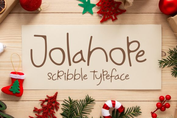 Print on Demand: Jolahope Script & Handwritten Font By Keithzo (7NTypes)