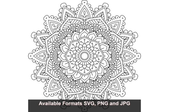 Download Free Mandala Art 65 Graphic Graphic By Iwantto Us Creative Fabrica for Cricut Explore, Silhouette and other cutting machines.
