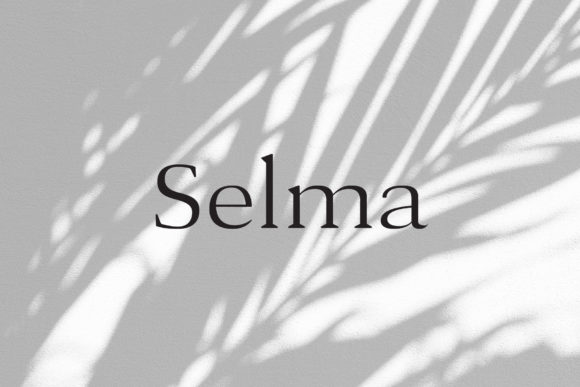 Print on Demand: Selma Serif Font By Cassandra Cappello