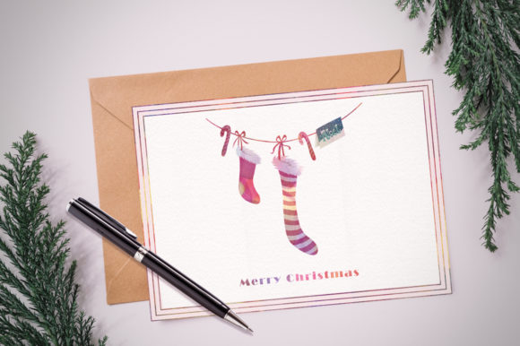 Season's Greetings Graphics Set Graphic Illustrations By Dapper Dudell - Image 3