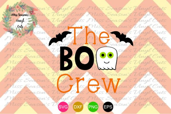 Download Free The Boo Crew Svg Halloween Svg Graphic By Missseasonsvinylcuts for Cricut Explore, Silhouette and other cutting machines.