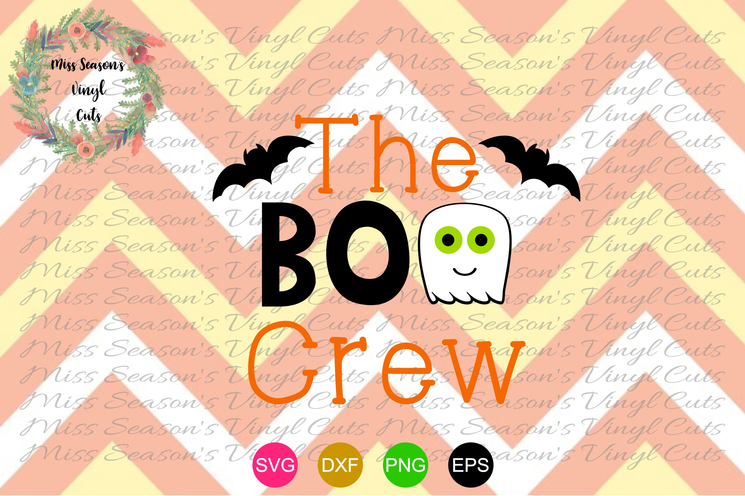 Download Free The Boo Crew Svg Halloween Svg Grafik Von Missseasonsvinylcuts for Cricut Explore, Silhouette and other cutting machines.
