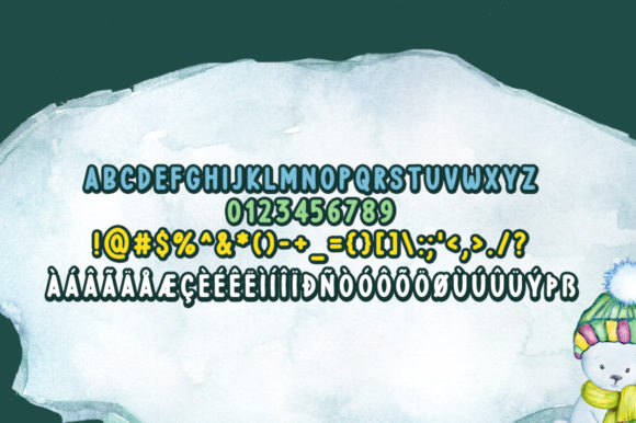Print on Demand: Wintry Display Font By FontEden - Image 5