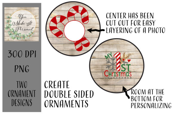 Print on Demand: Ornament Design, Perfect for Sublimation Graphic Print Templates By You Make It Personal