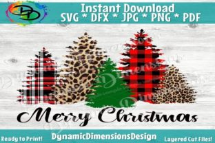 Merry Christmas SVG, Christmas Tree SVG Graphic By dynamicdimensions