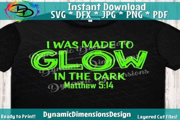Download Free Made To Glow Svg Rooted Light In Dark Graphic By Dynamicdimensions Creative Fabrica for Cricut Explore, Silhouette and other cutting machines.