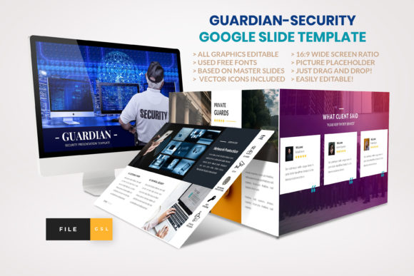 Download Free Guardian Security Google Slide Template Graphic By Artstoreid for Cricut Explore, Silhouette and other cutting machines.