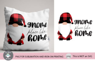 Gnome Place Like Home Graphic By thejaemarie