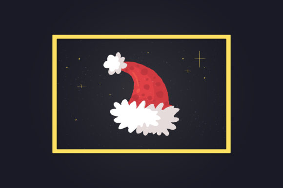 Download Free Santa Hat Christmas Hand Drawn Doodle Graphic By Richline Design for Cricut Explore, Silhouette and other cutting machines.