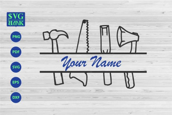 Download Free Carpenter Equipment Svg Custom Name Graphic By Svgbank for Cricut Explore, Silhouette and other cutting machines.