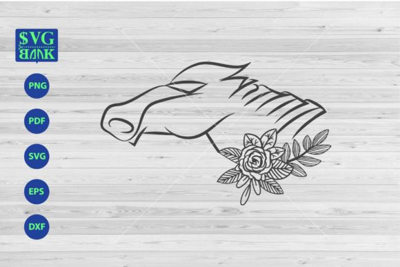 Download Free Robotic Horse Horse S Head Cutfile Graphic By Svgbank for Cricut Explore, Silhouette and other cutting machines.