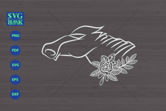Download Free Robotic Horse Horse S Head Cutfile Graphic By Svgbank Creative Fabrica for Cricut Explore, Silhouette and other cutting machines.