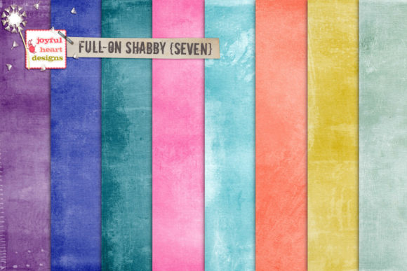 Full-on Shabby Bundle Two Graphic Backgrounds By Joyful Heart Designs - Image 3