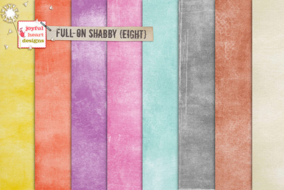 Full-on Shabby Bundle Two Graphic Backgrounds By Joyful Heart Designs - Image 4