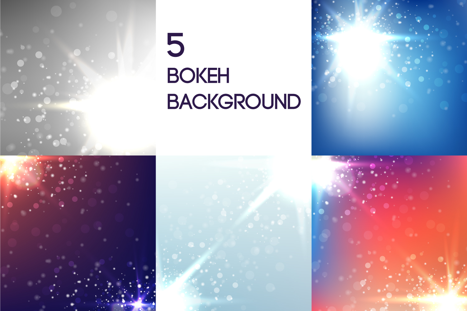 Download Free 5 Bokeh Background Graphic By Manuchi Creative Fabrica for Cricut Explore, Silhouette and other cutting machines.