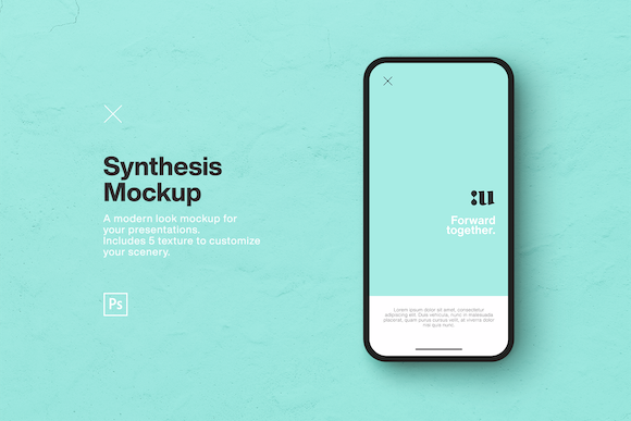 Synthesis Mockup Graphic Product Mockups By unio.creativesolutions