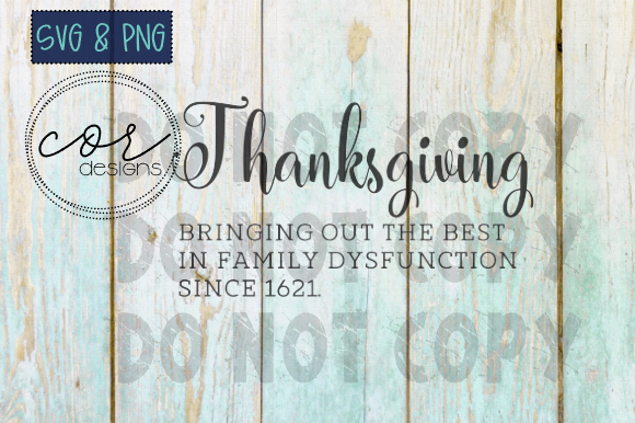 Print on Demand: Thanksgiving Quote SVG & PNG Graphic Crafts By designscor