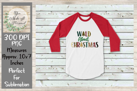 Print on Demand: Wild About Christmas Graphic Print Templates By Valerie Anderson - Image 3