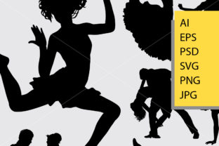 Beautiful Dance Silhouette Graphic Illustrations By Cove703 2