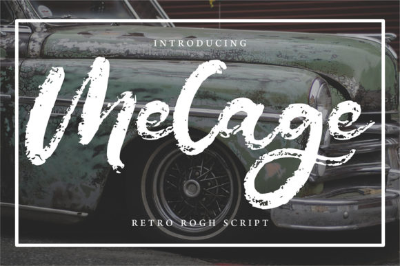 Print on Demand: Melage Script & Handwritten Font By Vunira