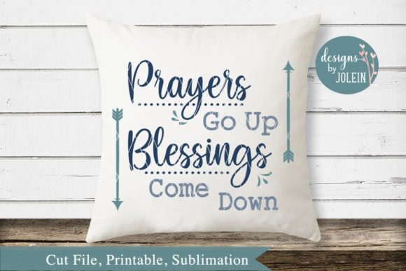Print on Demand: Prayers Go Up Graphic Crafts By Designs by Jolein - Image 1