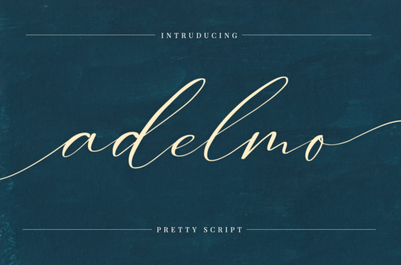 Print on Demand: Adelmo Script & Handwritten Font By it_was_a_good_day