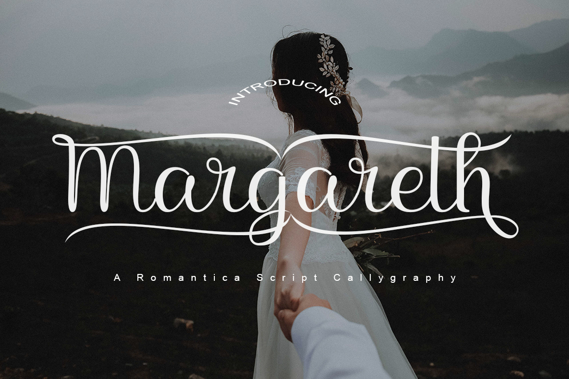 Download Free Margareth Font By Parawtype Creative Fabrica for Cricut Explore, Silhouette and other cutting machines.