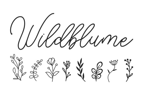 Download Free Wildblume Svg Cut File By Creative Fabrica Crafts Creative Fabrica for Cricut Explore, Silhouette and other cutting machines.