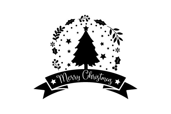 Merry Christmas - Xmas Tree Christmas Craft Cut File By Creative Fabrica Crafts - Image 2