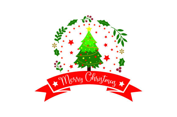 Download Free Merry Christmas Xmas Tree Svg Cut File By Creative Fabrica for Cricut Explore, Silhouette and other cutting machines.