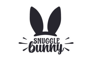 Snuggle Bunny Easter Craft Cut File By Creative Fabrica Crafts