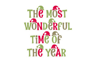 The Most Wonderful Time of the Year Craft Design By Creative Fabrica Crafts