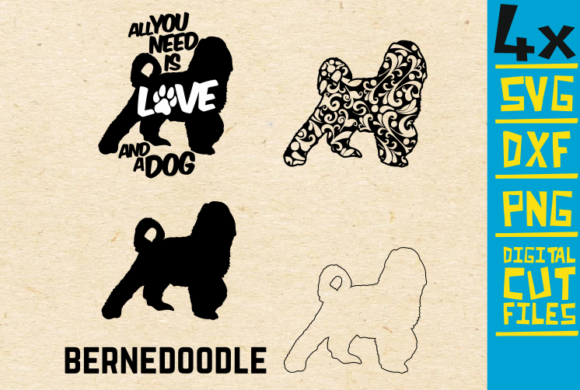Bernedoodle Graphic By svgyeahyouknowme
