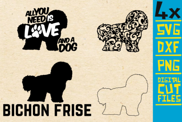 Bichon Frise Graphic By Svgyeahyouknowme Creative Fabrica
