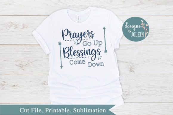 Print on Demand: Prayers Go Up Graphic Crafts By Designs by Jolein - Image 2