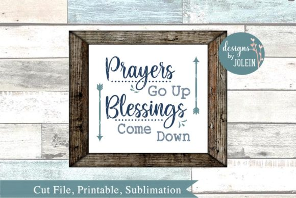 Print on Demand: Prayers Go Up Graphic Crafts By Designs by Jolein - Image 3
