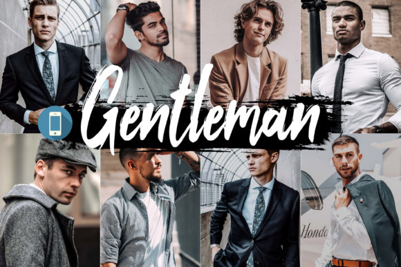 05 Gentleman Mobile Lightroom Presets Graphic By 3Motional