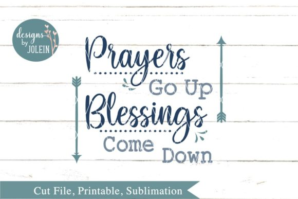Print on Demand: Prayers Go Up Graphic Crafts By Designs by Jolein - Image 4