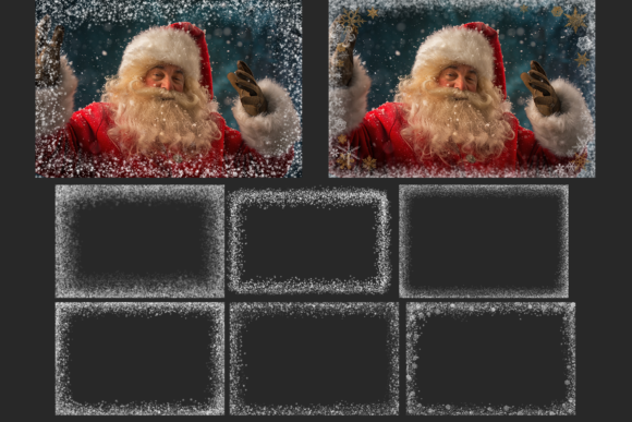 150 Christmas Overlays Photoshop Graphic Layer Styles By 2SUNSoverlays - Image 6