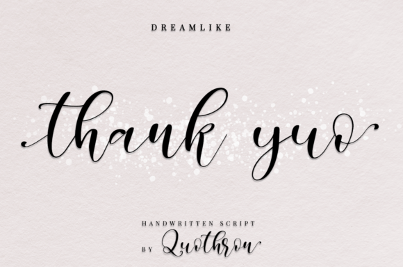 Print on Demand: Dreamlike Script Script & Handwritten Font By it_was_a_good_day - Image 5