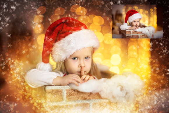 150 Christmas Overlays Photoshop Graphic Layer Styles By 2SUNSoverlays - Image 9