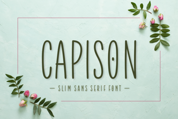 Print on Demand: Capison Script & Handwritten Font By Situjuh - Image 1